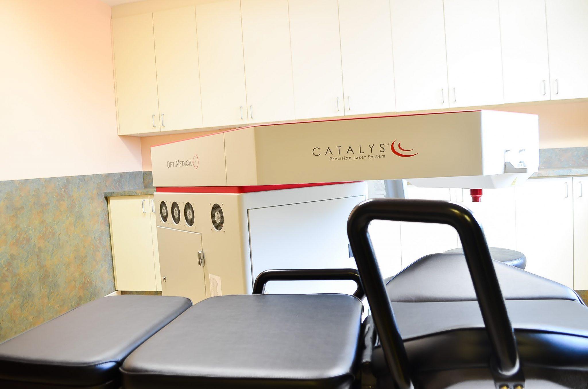 Opération de la cataracte assistée au laser Catalys